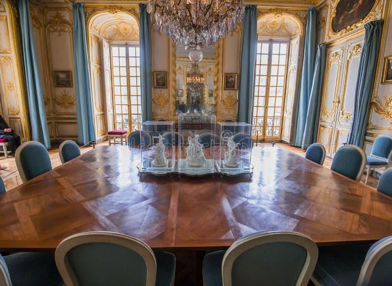Interni degli appartamenti reali, Versailles, Francia immagine stock libera da diritti