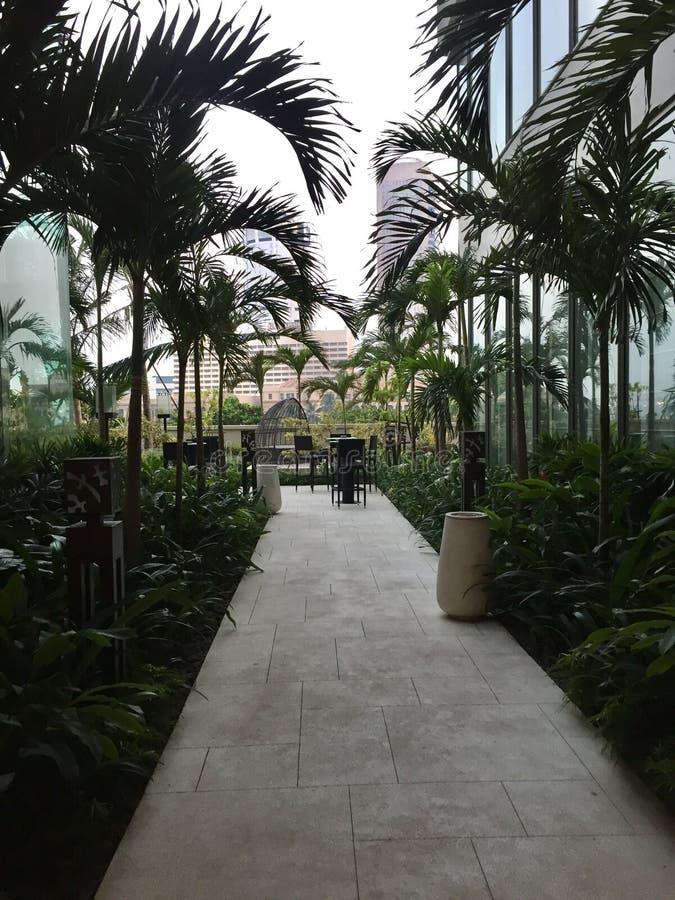 Interni della La Colombo di Shangri immagini stock libere da diritti