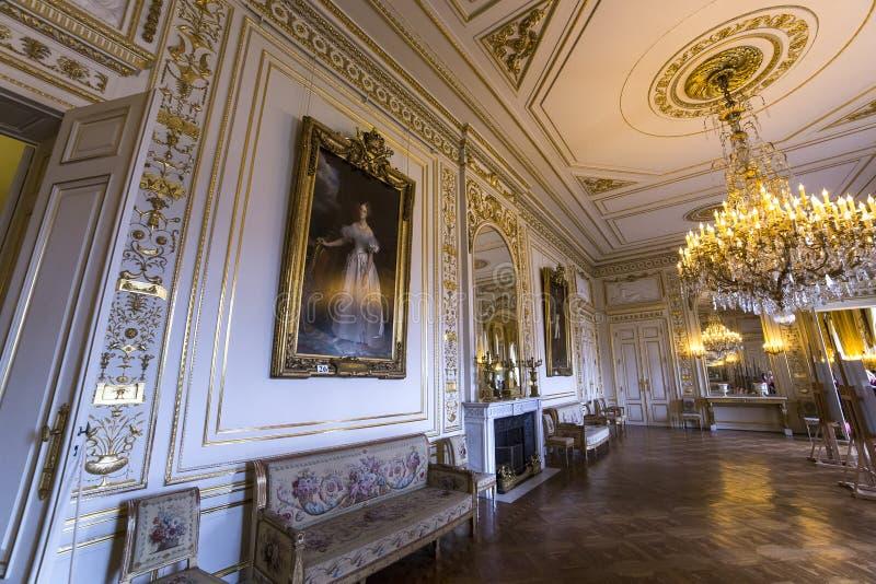 Interni di Royal Palace, Bruxelles, Belgio immagini stock