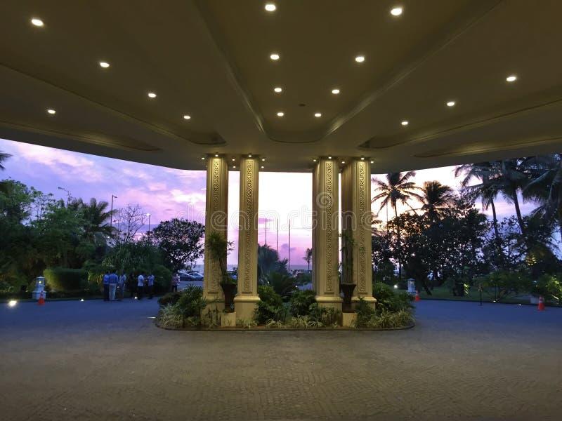Interni di Taj Samudra, Colombo fotografia stock libera da diritti