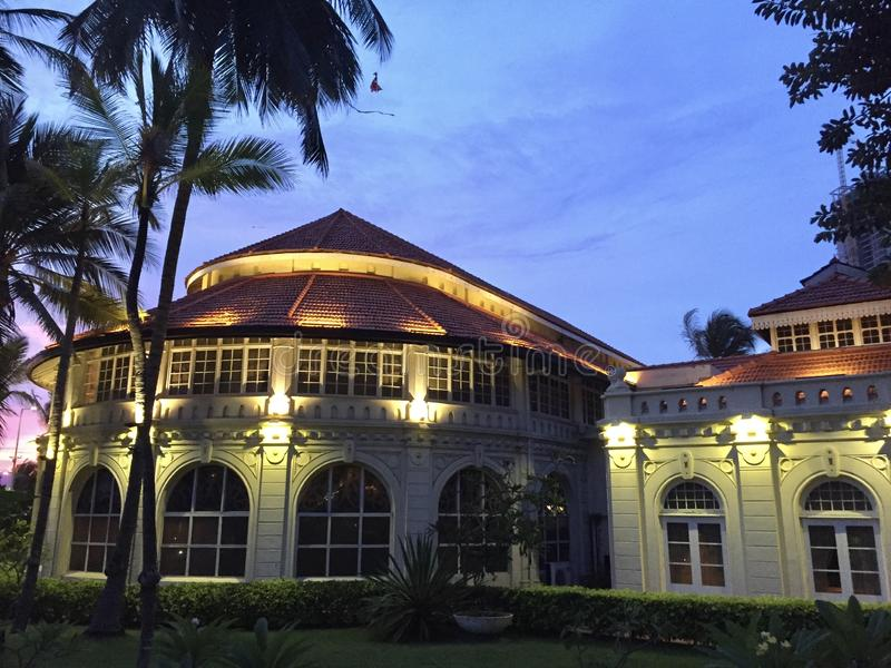 Interni di Taj Samudra, Colombo fotografia stock