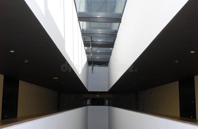 Interni moderni di architettura fotografie stock libere da diritti
