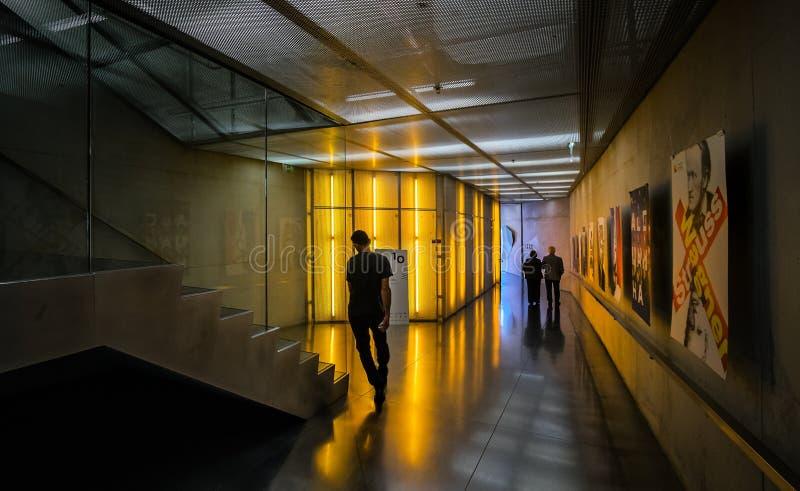 interno Architettura moderna portugal fotografie stock libere da diritti