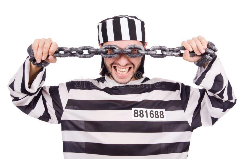 Interno da prisão imagens de stock