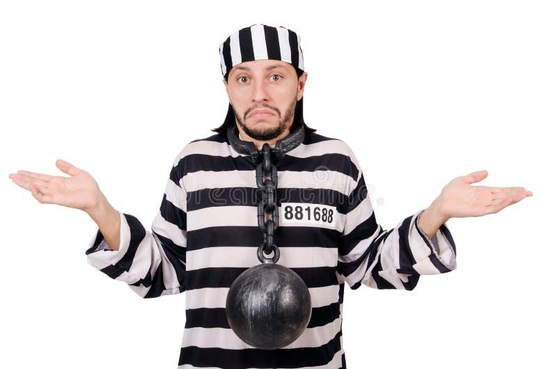 Interno da prisão imagem de stock