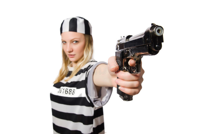 Download Interno De La Prisión Con El Arma Foto de archivo - Imagen de custodia, justicia: 41913330