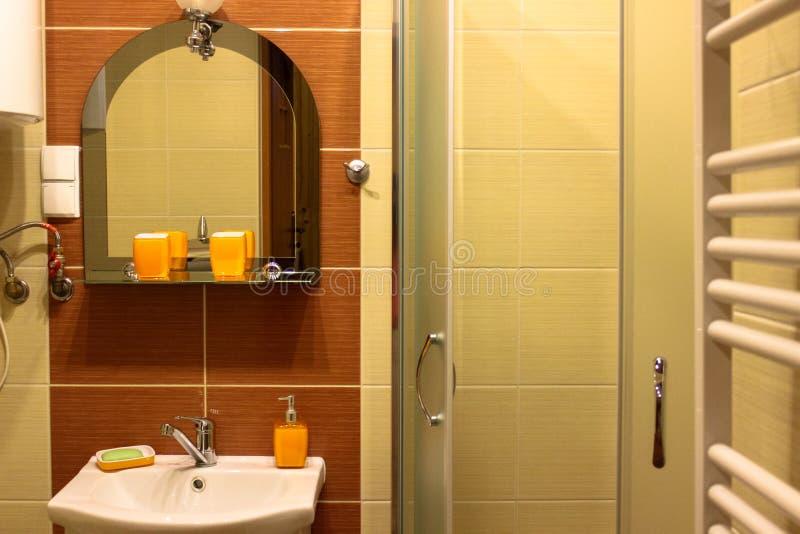 Interno del bagno fotografie stock
