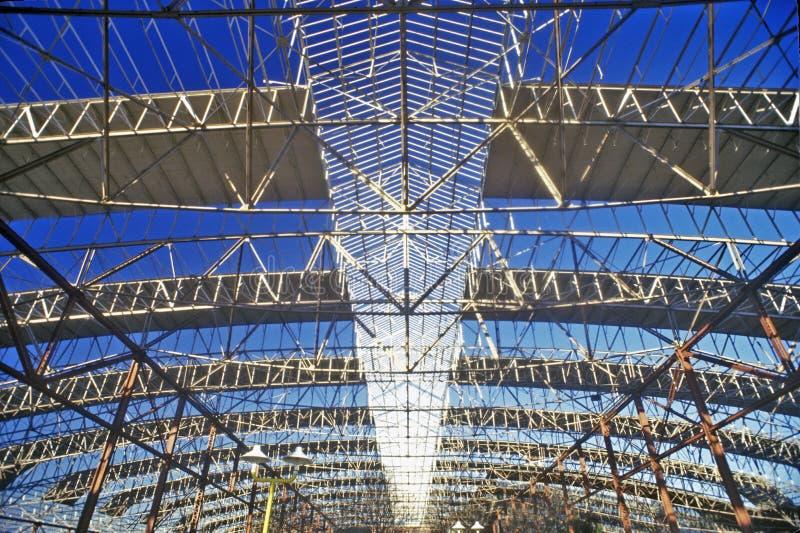 Interno del centro commerciale della stazione del sindacato, St. Louis, Mo immagine stock