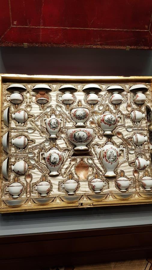 Interno del Museo dell'Ermitage fotografia stock