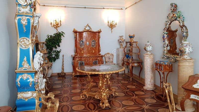 Interno del Museo dell'Ermitage immagini stock