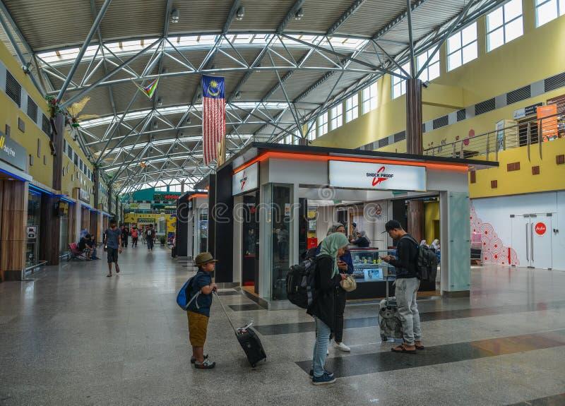 Interno dell'aeroporto di Langkawi immagini stock libere da diritti