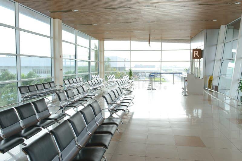 Interno dell'aeroporto internazionale di Kuching immagine stock