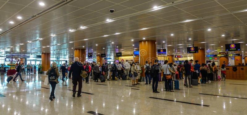 Interno dell'aeroporto fotografia stock libera da diritti