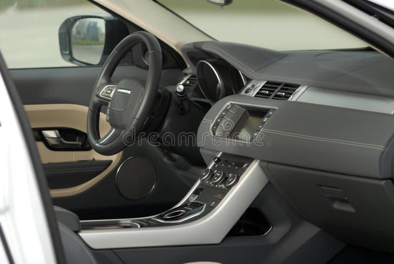 Interno dell'automobile immagini stock libere da diritti