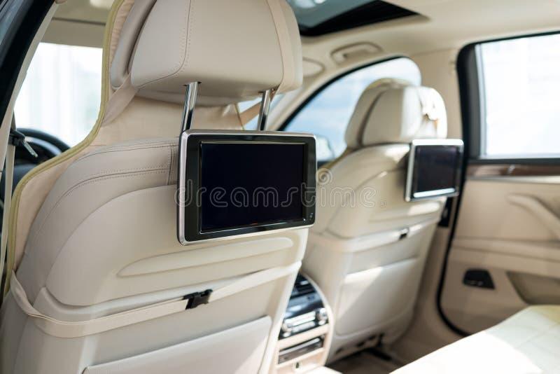 Interno dell'automobile fotografia stock libera da diritti
