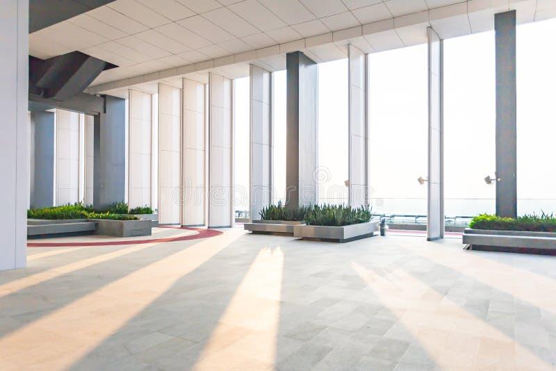 interno dell'ufficio moderno, fondo astratto Deposito, interno, fotografie stock