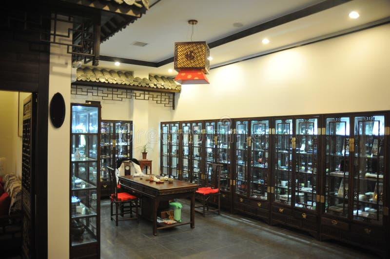 Interno della casa di stile cinese immagine stock for Interno della casa