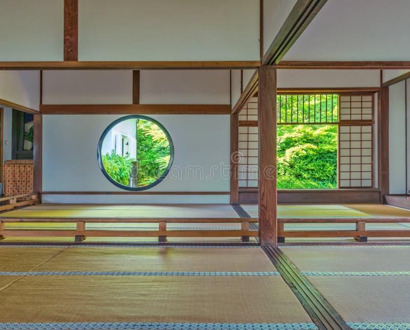Interno della casa giapponese tradizionale immagine stock for Casa giapponese tradizionale