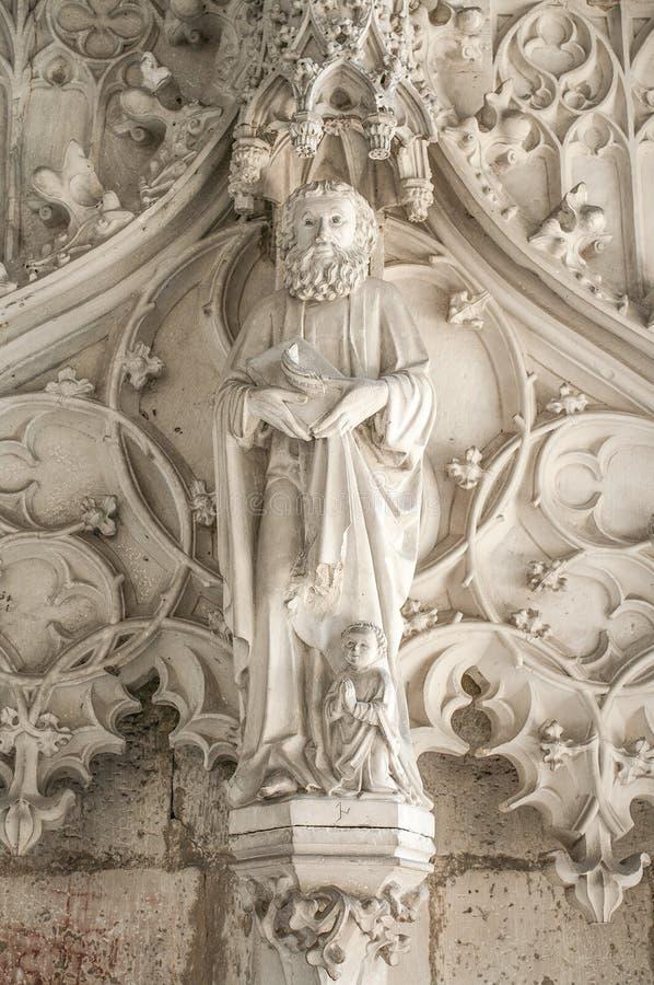 Interno della cattedrale di Magdeburgo, Magdeburgo, Germania immagine stock libera da diritti