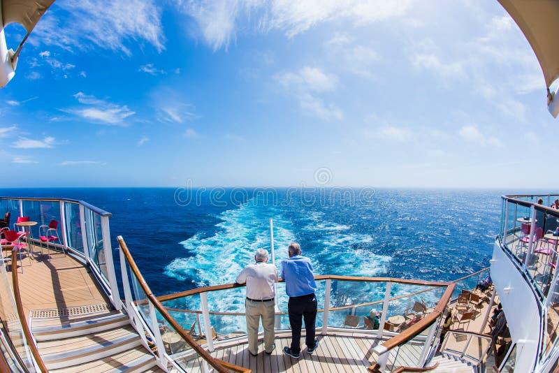 Interno della nave da crociera fotografie stock libere da diritti