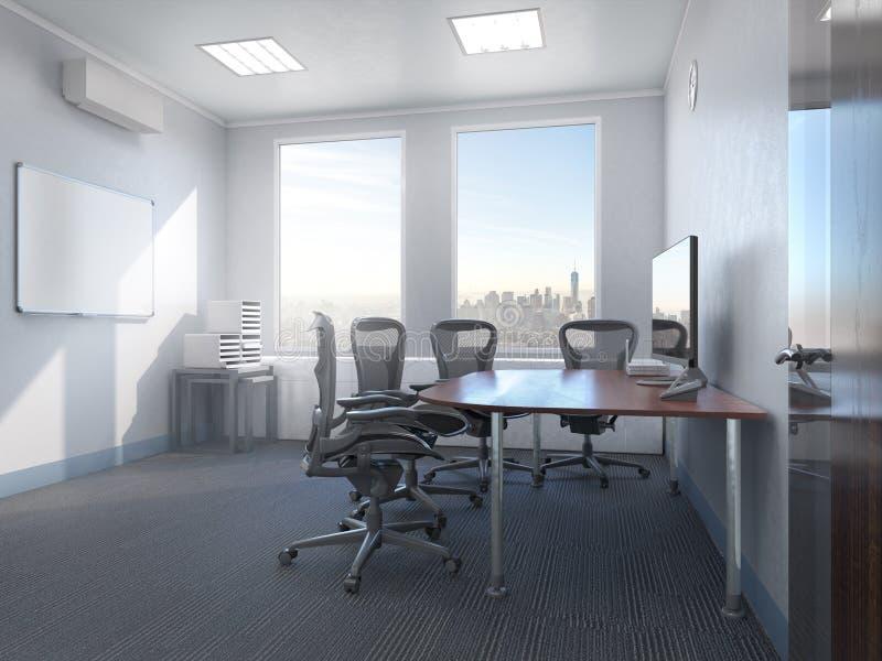 Interno della sala riunioni illustrazione vettoriale