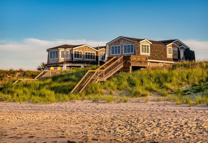 Interno della spiaggia House immagine stock