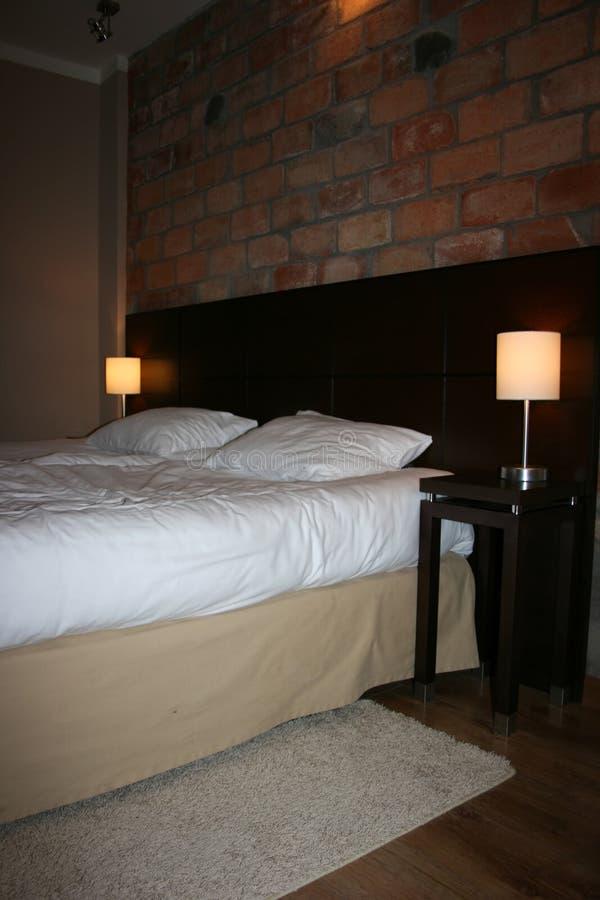 Interno della stanza di albergo di lusso immagini stock libere da diritti