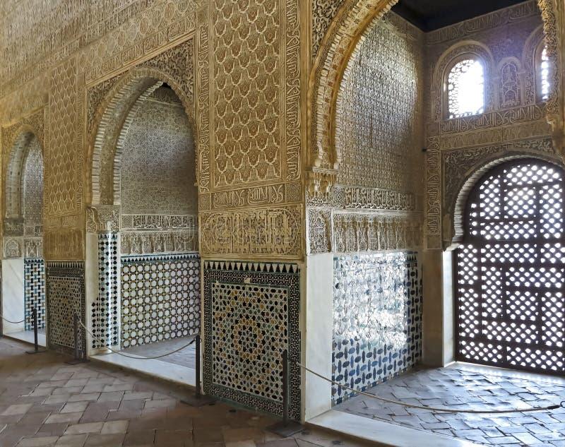 Download Interno Di Alhambra Granada Immagine Stock - Immagine di interno, medioevale: 55360699