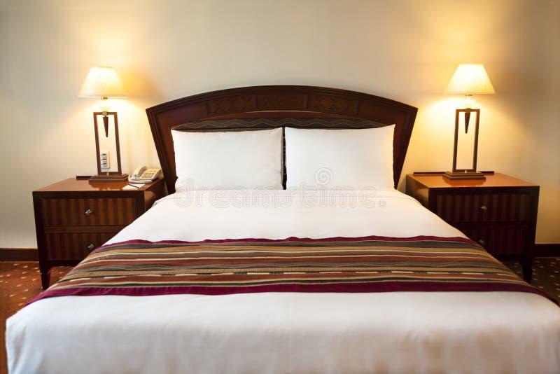 Interno di camera di albergo immagine stock