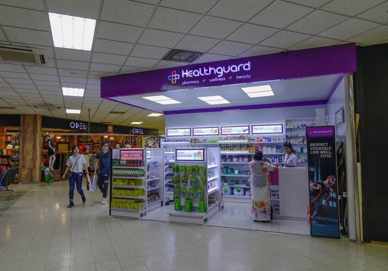 Interno di Colombo Airport, Sri Lanka immagini stock libere da diritti