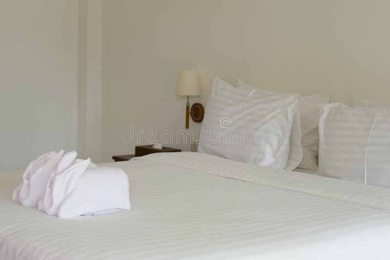 Interno di una camera da letto fotografie stock