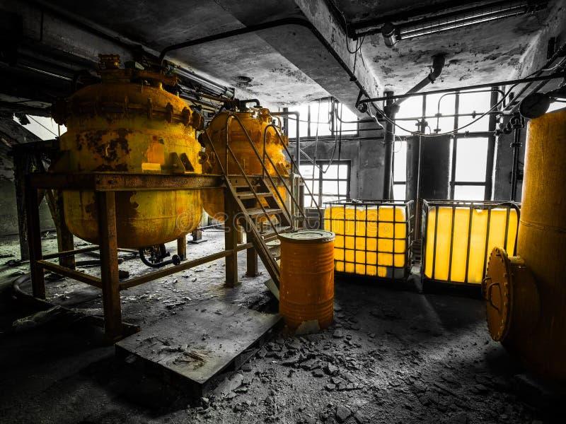 Interno industriale fotografia stock