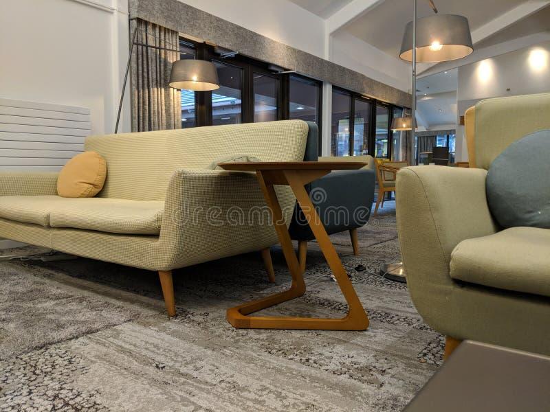 Interno, ingresso, salone, sofà, progettazione, idee interne, immagine stock