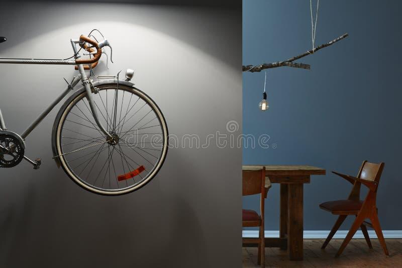 Interno moderno di interior design creativo fotografia stock