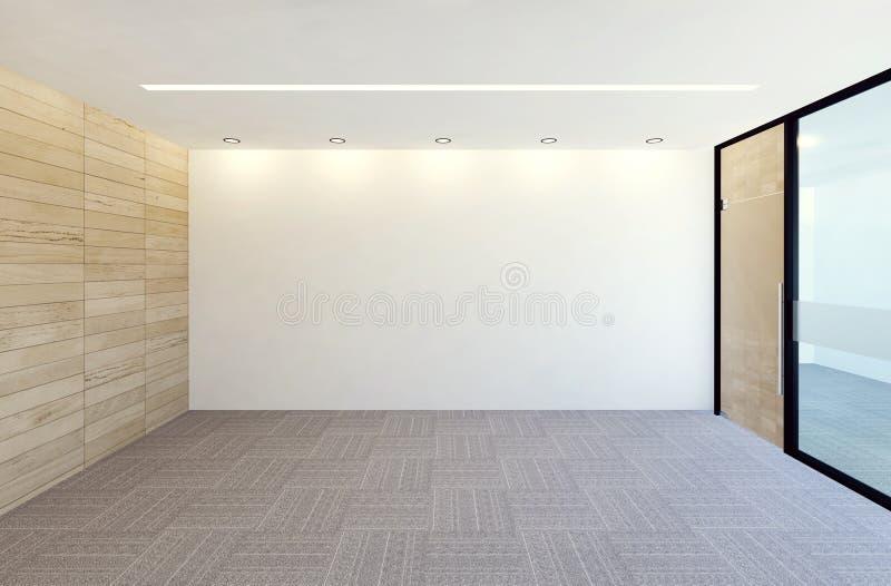 Interno moderno vuoto della stanza dell 39 ufficio for Stanza uso ufficio