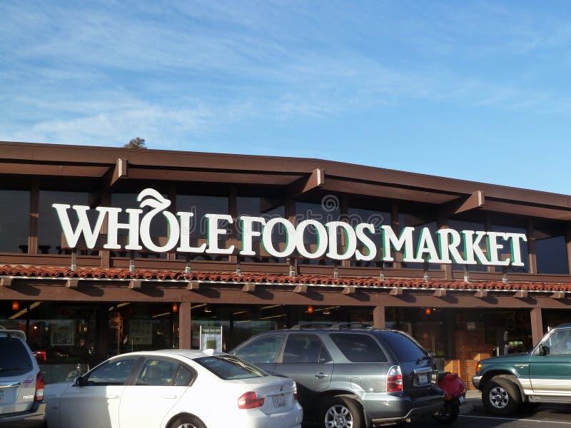 Intero mercato degli alimenti fotografia stock