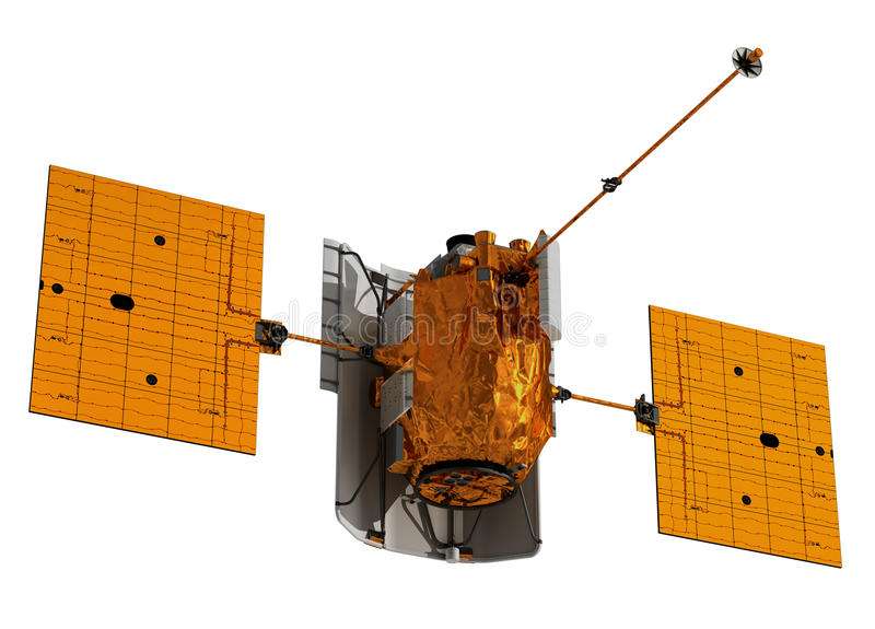 Interplanetair Ruimtestation royalty-vrije illustratie
