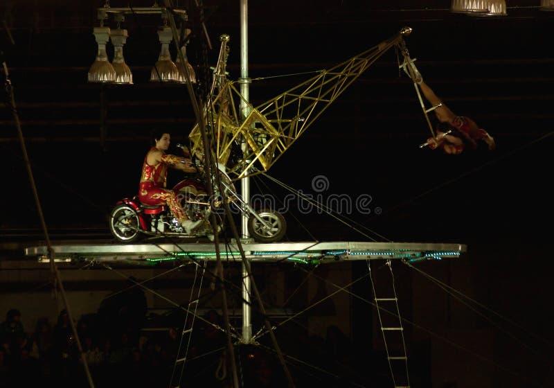 Interprètes de cirque de tombeau