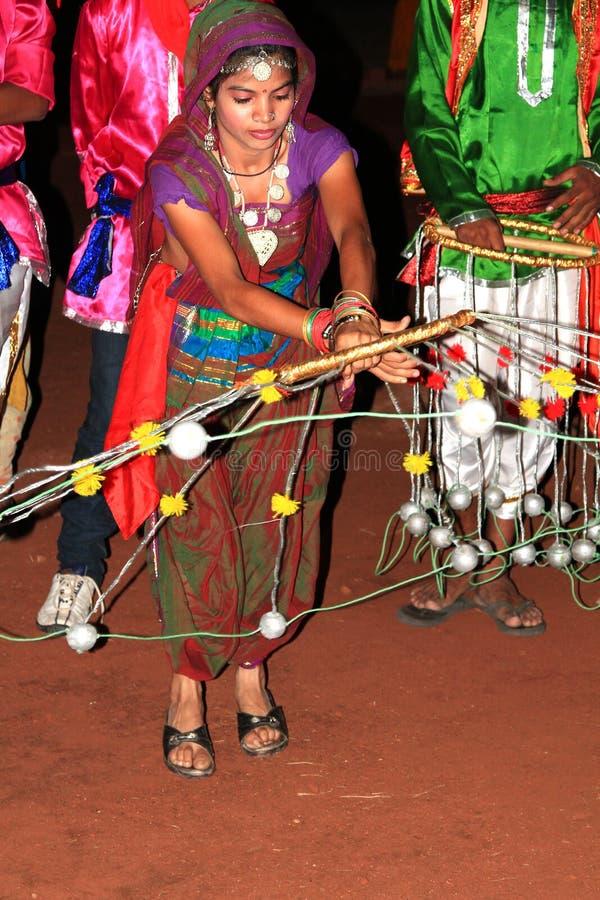 Interprètes de Rajasthani photos libres de droits