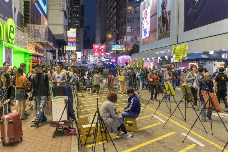 Interprètes de rue image libre de droits