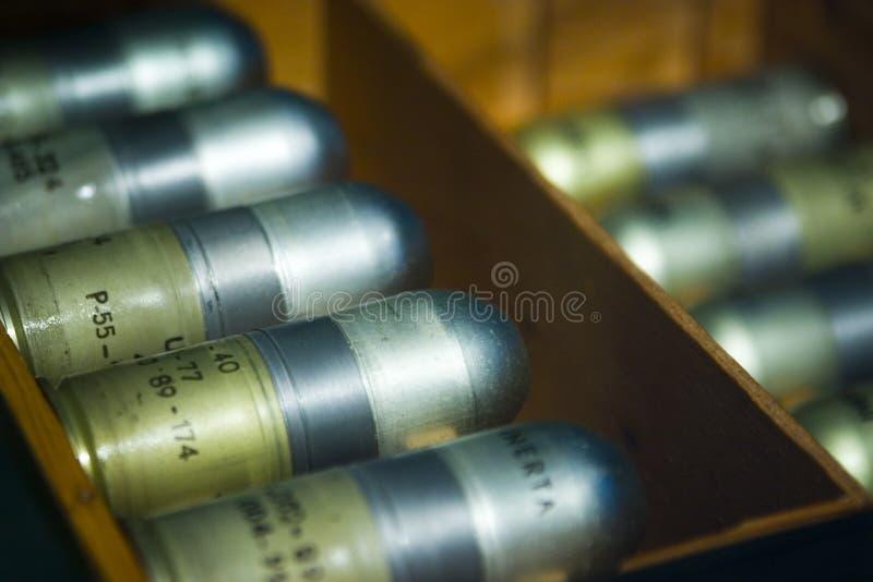 Interpréteurs de commandes interactifs de lance-grenades   photo stock