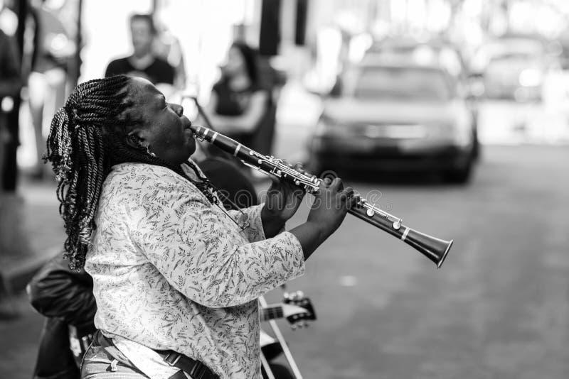 Interpr?tes de rue de la Nouvelle-Orl?ans photos stock