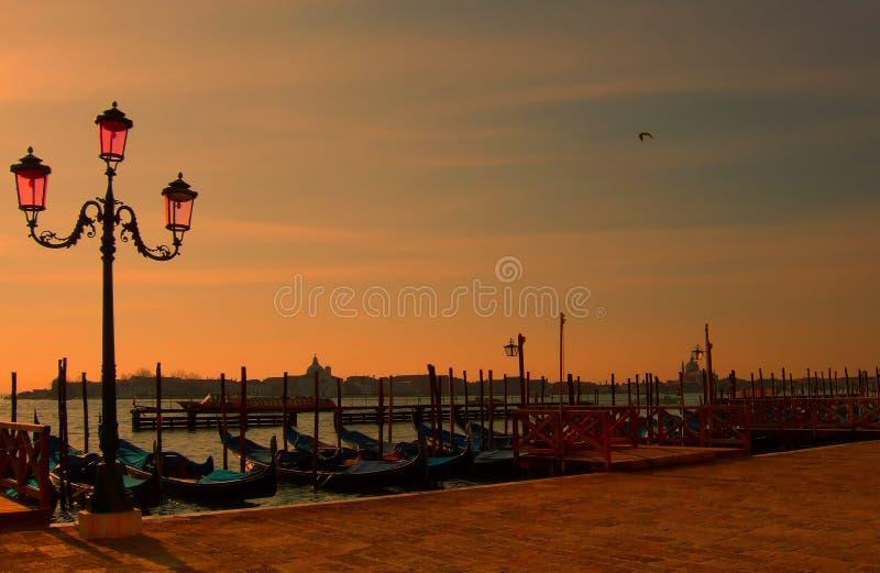 Interpretação romântica de Veneza 3 fotos de stock