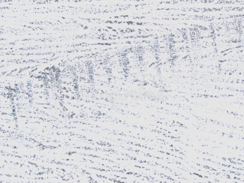 Interpretazione originale della parete del cemento bianco di struttura della parete fotografia stock libera da diritti