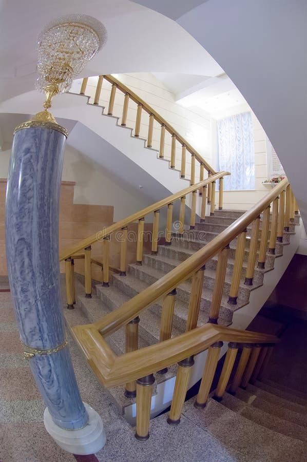 Interrior stair royalty free stock photo