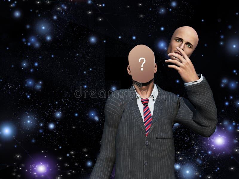 Interrogación interna libre illustration