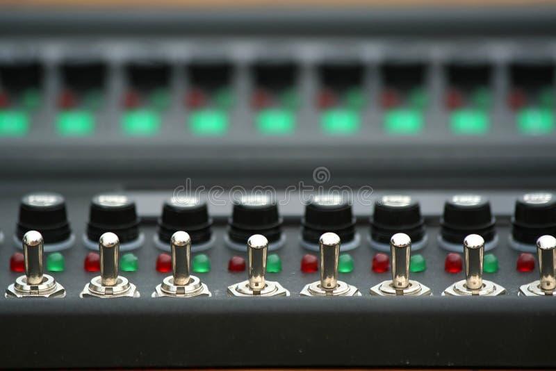 Interrupteur à bascule photo stock