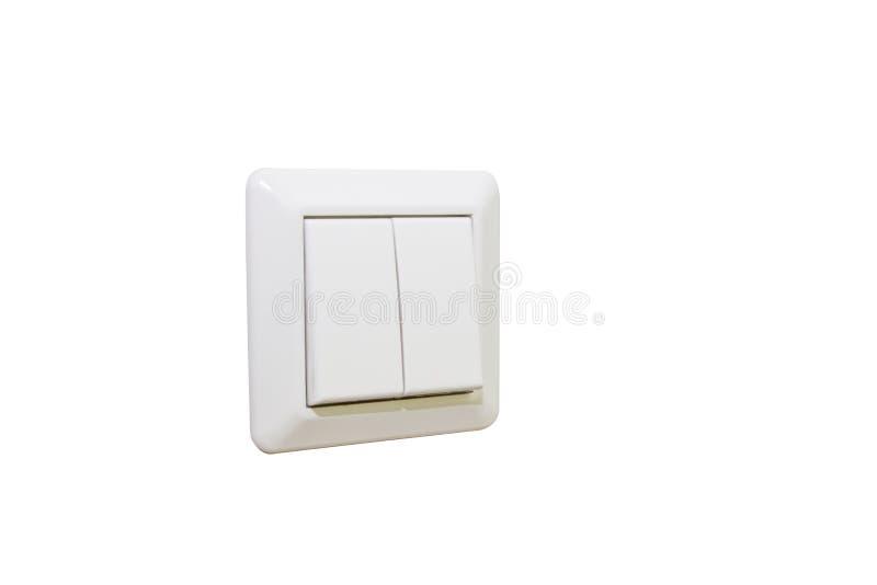 Interrupteur de lampe d'isolement photos libres de droits