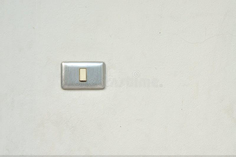 Interrupteur de lampe sur le mur photos stock