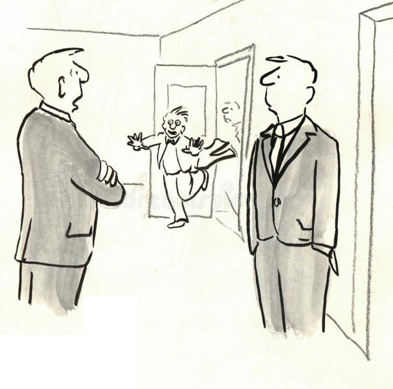 Interruption illustration de vecteur